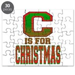 C is for Christmas Puzzle