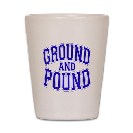 Ground and Pound Shot Glass