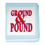 Ground & Pound baby blanket