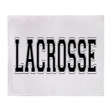 Lacrosse Throw Blanket