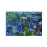 Monet Rectangle Magnet