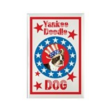 Patriotic Boston Rectangle Magnet
