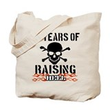 40 Years of Raising Hell Tote Bag