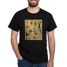 Mushroom mousepad a... T-Shirt