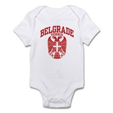Belgrade Serbia Infant Bodysuit