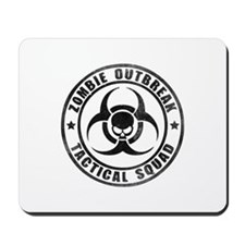 Zombie Outbreak Technical Squad Mousepad