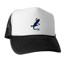 Blue Newt Trucker Hat