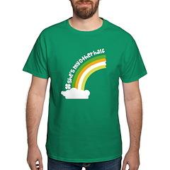 She's My Other Half Irish Rainbow Dark T-Shirt