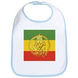 Rasta Gear Shop Jamaican Lion of Judah Baby Bib