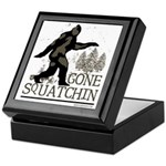 Gone Squatchin Keepsake Box