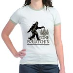 Gone Squatchin Jr. Ringer T-Shirt