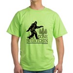 Gone Squatchin Green T-Shirt