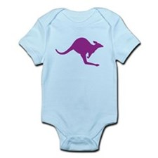 Hopping Kangaroo Onesie