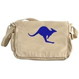 Hopping Kangaroo Messenger Bag
