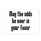 May the odds be Ever in Your Postcards (Package of