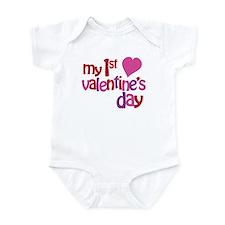 My 1st Valentine's Day Infant Bodysuit