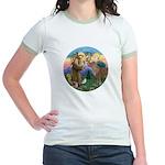 StFrancis-Pony Jr. Ringer T-Shirt