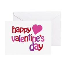 Happy Valentine's Day Greeting Cards (Pk of 10)