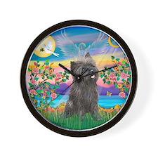 Guardian /Cairn Terrier (brin Wall Clock