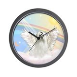 Maltese Angel (C) Wall Clock