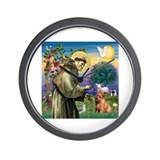 St. Francis & Norfolk Wall Clock
