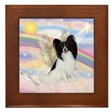 Papillon (#1) Angel Framed Tile