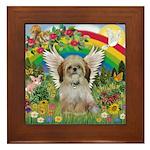Rainbow & Shih Tzu Framed Tile