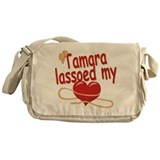 Tamara Lassoed My Heart Messenger Bag