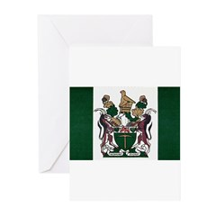 Rhodesia Flag Greeting Cards (Pk of 10)