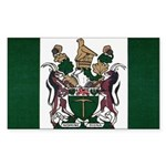 Rhodesia Flag Sticker (Rectangle)