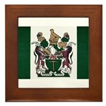 Rhodesia Flag Framed Tile