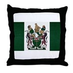 Rhodesia Flag Throw Pillow