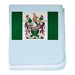 Rhodesia Flag baby blanket
