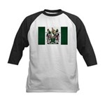 Rhodesia Flag Kids Baseball Jersey