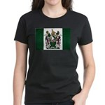 Rhodesia Flag Women's Dark T-Shirt