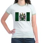 Rhodesia Flag Jr. Ringer T-Shirt