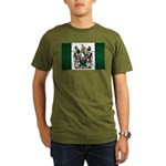 Rhodesia Flag Organic Men's T-Shirt (dark)