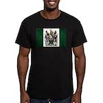 Rhodesia Flag Men's Fitted T-Shirt (dark)