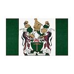 Rhodesia Flag 35x21 Wall Decal