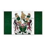 Rhodesia Flag 20x12 Wall Decal