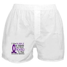 Means World To Me 1 Sarcoidosis Shirts Boxer Short