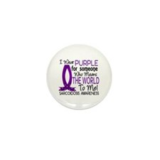 Means World To Me 1 Sarcoidosis Shirts Mini Button