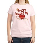 Tracey Lassoed My Heart Women's Light T-Shirt