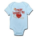 Tracey Lassoed My Heart Infant Bodysuit