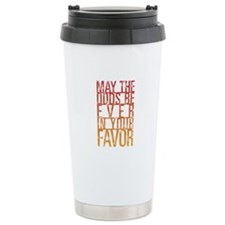 May The Odds Stainless Steel Travel Mug