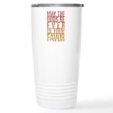 May The Odds Travel Mug