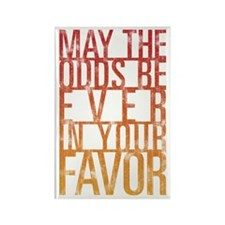 May The Odds Rectangle Magnet (10 pack)