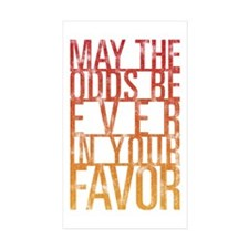 May The Odds Stickers