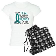 Means World To Me 1 Ovarian Cancer Shirts Pajamas