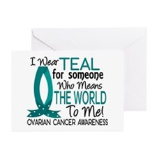 Means World To Me 1 Ovarian Cancer Shirts Greeting